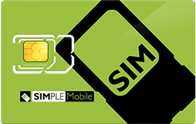 Simple Mobile SIM Card