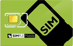Simple Mobile SIM Card